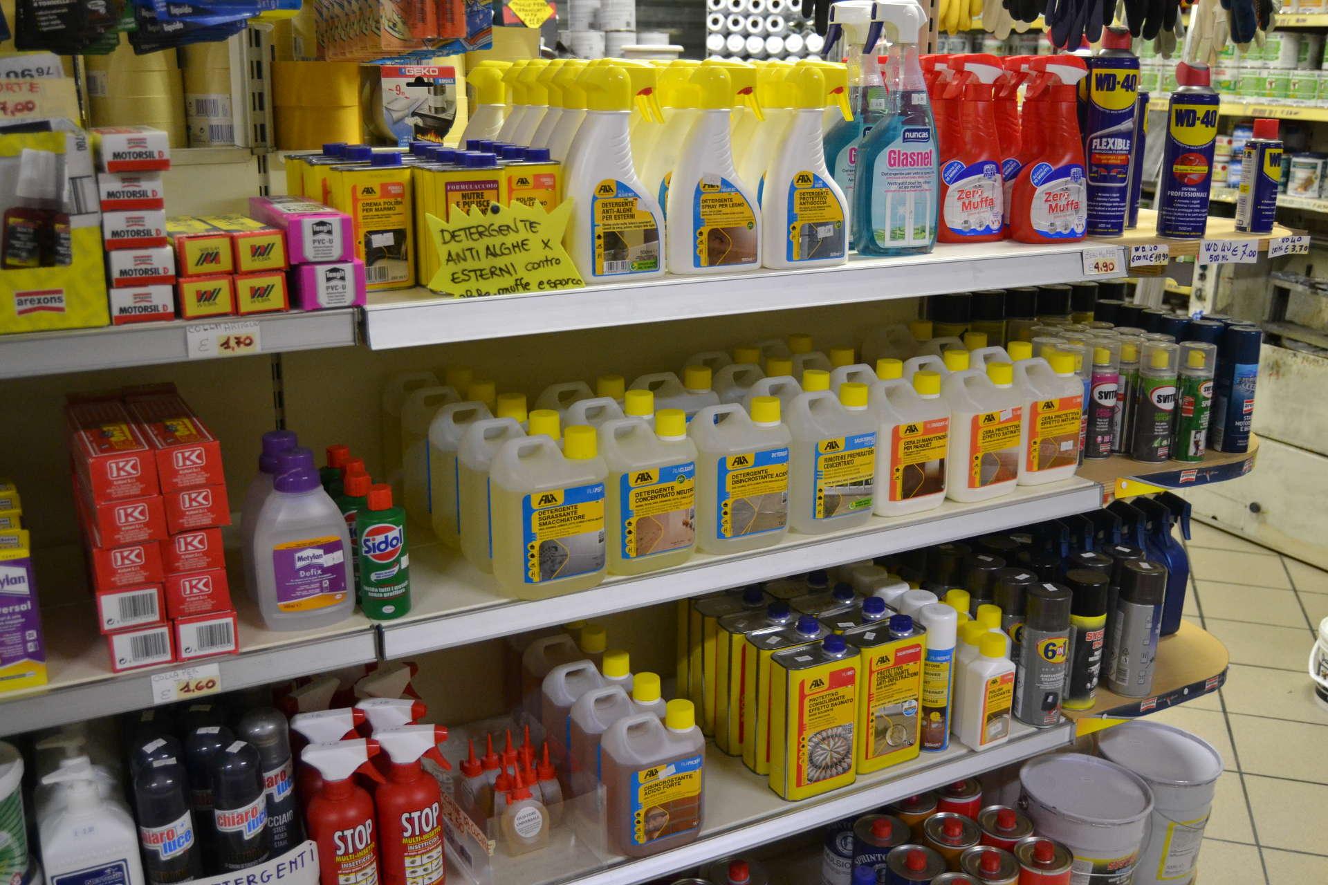 Detergenti e Protettivi