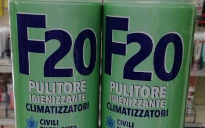 F20 per la pulizia del tuo climatizzatore